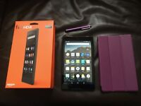 16gb Amazon Kindle Fire HD 8 6th generation (2016) Boxed.