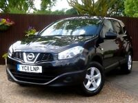 NISSAN QASHQAI +2 VISIA 1.6 # 7 SEATER # ONE OWNER FROM NEW # FULL SERVICE HISTORY #