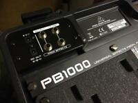 Behringer Pedal Board PB1000 With Power Supply Guitar Effect