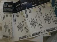Plan B tickets x 4