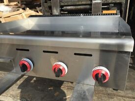 Griddle with Chrome Plated