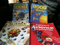 FAB COLLECTION OF 4 SCIENCE AND FACT BOOKS