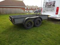 Large four wheel trailer 10' x 5'5""
