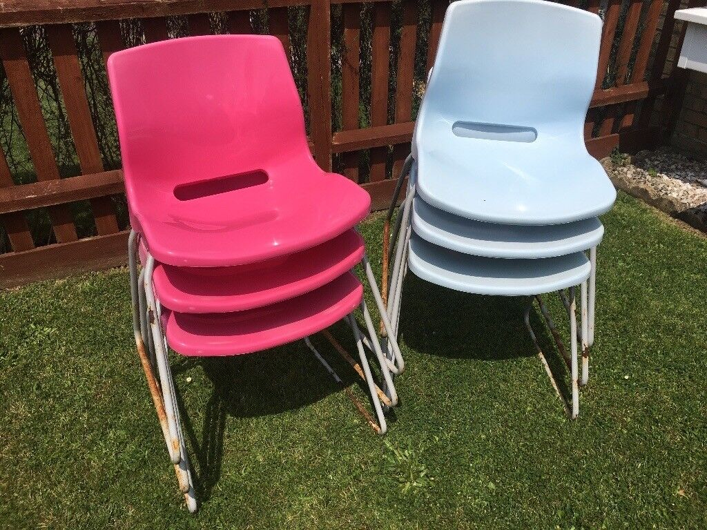 6 Plastic garden chairs - IKEA | in New Milton, Hampshire ...