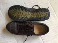 Clarks Active Air Goretex brown shoes - unworn