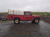 Landrover rear tub and canopy