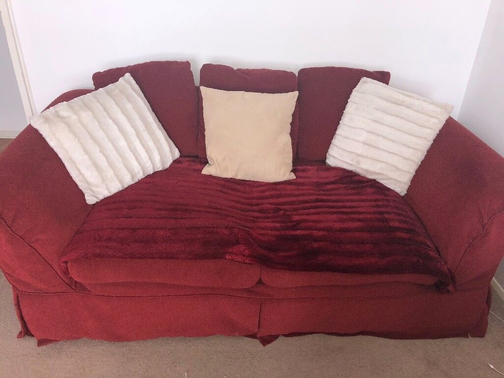 Stupendous Free Sofa Bed And Arm Chair For Sale In Tooting London Ocoug Best Dining Table And Chair Ideas Images Ocougorg
