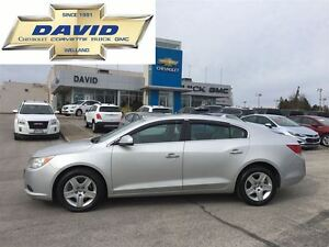 2010 Buick LaCrosse CX V6, LOADED, LOCAL TRADE!!!!