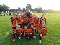 U8 junior football team recruiting a goalkeeper