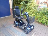 Invacare Orion Mobility Scooter Navy Blue