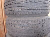 Winter tyres 195/55 R15