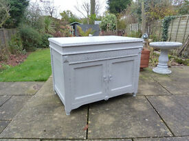 Shabby chic Wooden chest/blanket box