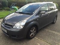 2007 TOYOTA COROLLA VERSO, D4D, 7SEATER, MOT Feb 2017, 2 OWNERS FROM NEW