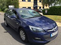 Vauxhall Astra car 2013 1.7 cdti black ti 6 speed full service history 1 owner motorway miles £3499