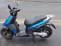 PIAGGIO TYPHOON 50CC 2014 8000M MOPED/MOTORBIKE