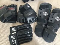 Karate Gloves and Pads