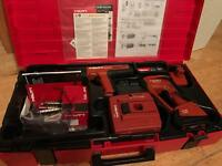 DRILL HILTI XBT 4000-A HILTI DX 351 BT + Accessories