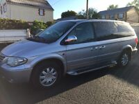 2006 CHRYSLER GRAND VOYAGER LTD 2.8 CRDT XS STOW & GO TOP SPEC WITH GOOD HISTORY