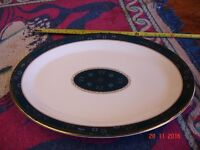 Large oval Royal Doulton meat plate / platter. Carlyle H5018. Very good condition.
