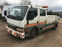 MITSUBISHI CREW CAB SPEC LIFT RECOVERY TRUCK 7.5 TON, MOT, ALL WORKING REDUCED FOR QUICK SALE £2000