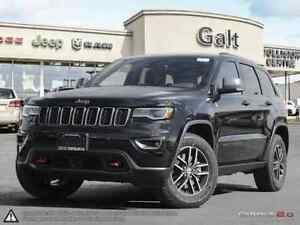 2017 Jeep Grand Cherokee TRAILHAWK 4X4 DEMO | LEATHER NAV DVD BL