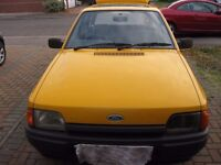 FORD ESCORT MK4, 1 FAMILY OWNED, NEEDS TO GO AS NEW VEHICLE ARRIVING.