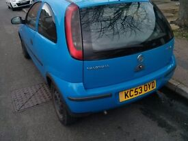 Vauxual Corsa 1L life 2004 (53) low mileage, lady owner