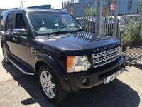 LAND ROVER DISCOVERY 3 2009 AUTOMATIC DIESEL 2.7 SATNAV LEATHER SUNROOF PRIVATE PLATE TDV6 HSE
