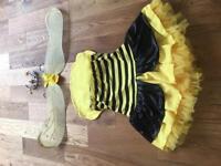 Bumblebee fancy dress costume