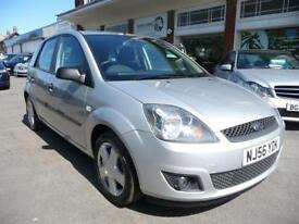 FORD FIESTA 1.4 ZETEC CLIMATE 16V 5d 80 BHP (silver) 2006