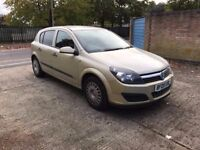 2005 Vauxhall Astra, long MOT, 62k only, AUTOMATIC.