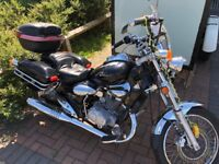 125 cc 4 stroke motorbike