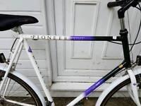 Mens Raleigh Pioneer Hybrid Bike