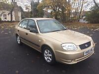 Hyundai Accent 1.3 GSi 2005 05 Reg 5 door pas cd 65k from new similar to civic Astra Corolla Corsa