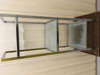 3 Tier Tempered Glass Shelf Unit