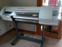 Roland VERSACAMM SP300-V printer + New CIS system + Full Rolls of vinyl. Ideal Business Start Up