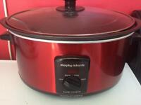 Morphy Richards slow cooker - as new, used once