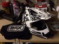 Box MX-5 Target (Black) Full Face Helmet - Medium