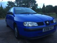 Seat Ibiza chill 58k mot one owner car drives nice