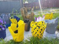 Pots ,handmade pots