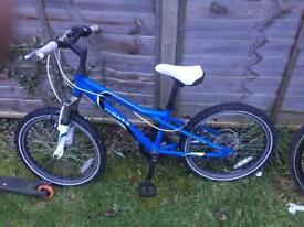 Dawes redtail 20 wheel boys bike