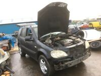 Mercedes Benz ml 270 cdi spare parts available