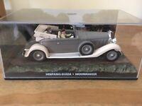 Die cast 1//43 Modellino Auto 007 James Bond Hispano-Suiza Moonraker