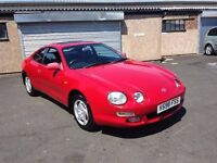 TOYOTA CELICA 2000 YEAR STUNNING CAR CLEAN AND RELIABLE LOW MILES PX WELCOME