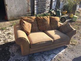 2 x 2 seater sofa with washable covers