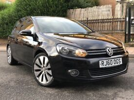 MUST SEE!! VOLKSWAGEN GOLF GT HATCHBACK 20111 3 DOOR HPI CLEAR GTI SEATS WITH ALLOYS FULLY LOADED