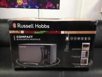 Russel hobs black digital microwave