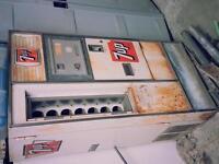 7up bottle vending machine/ beer bottle vending machine,mancave