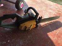 Mc culloch chain saw