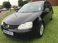 \\\\ 06 VOLKSWAGEN GOLF 1.6 FSI \\\\ JET BLACK \\\\ ONLY £1999